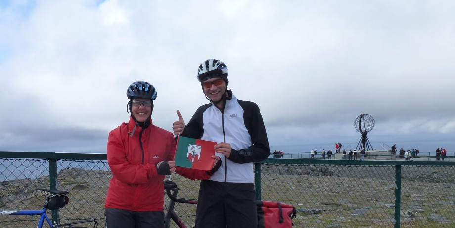 NordTour 2014 – Tag 21 – Ankunft amNordkap