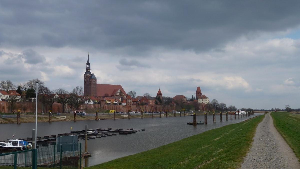 von Magdeburg nach Tangermünde – ein StückElberadweg
