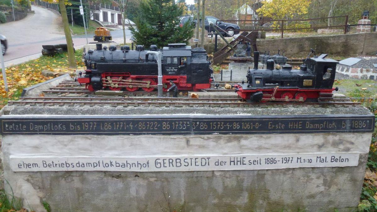 Vom Stillstand und einer Betonmodelleisenbahn