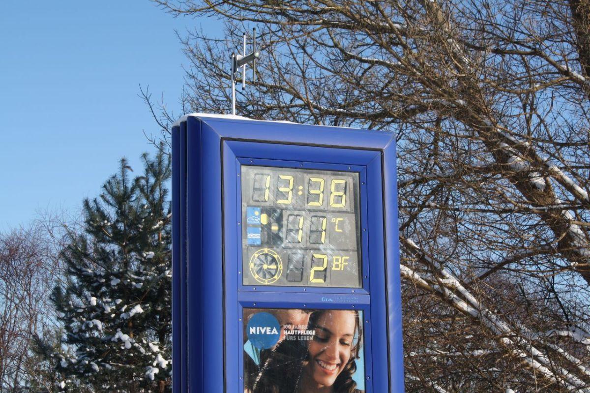 51 Grad Temperaturdifferenz –Verrückt