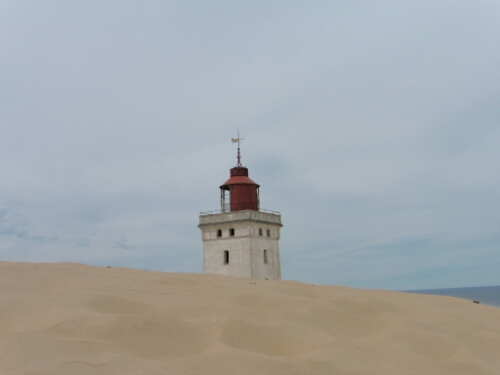 Rubjerg Knude – Sand in my shoes