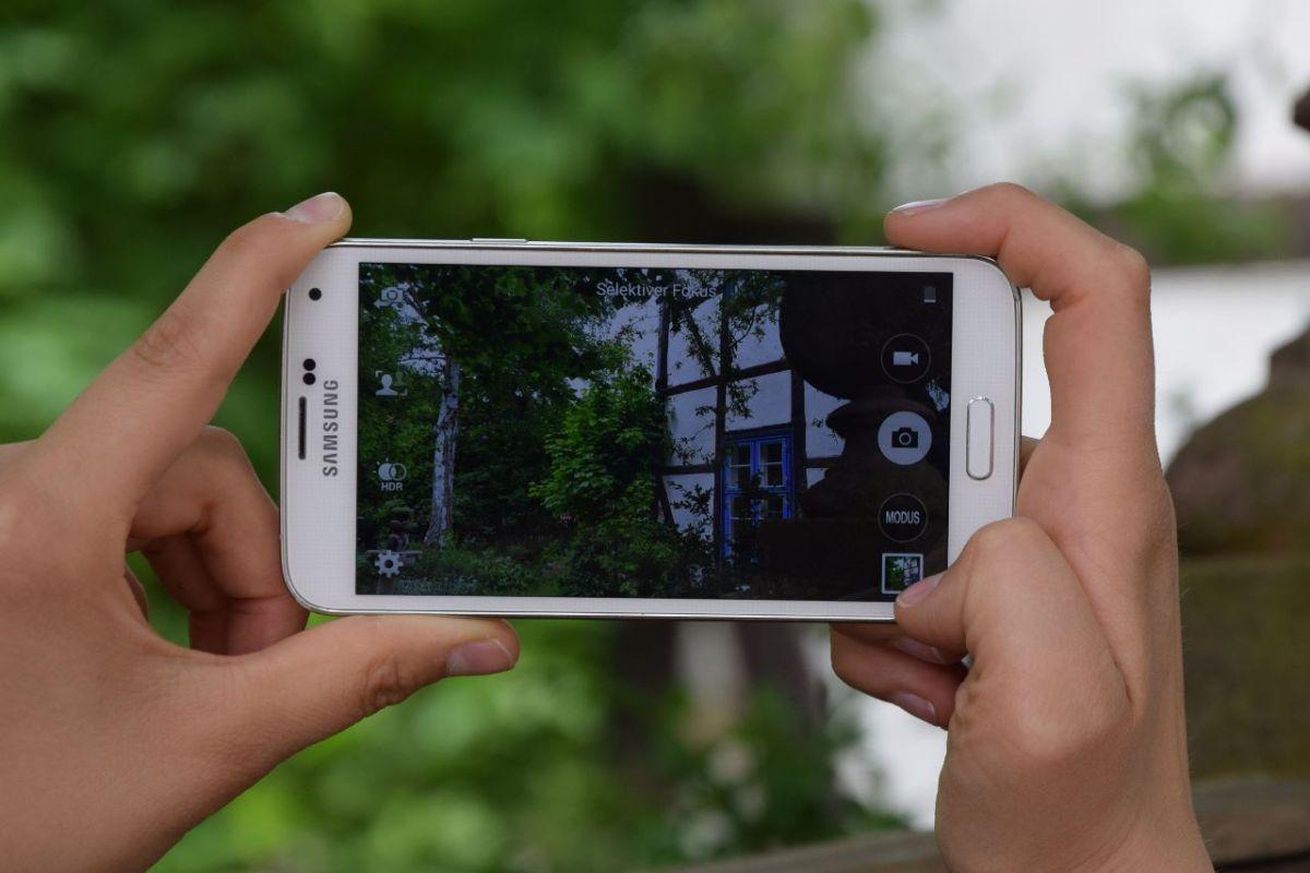 auch Handys machen schöneFotos