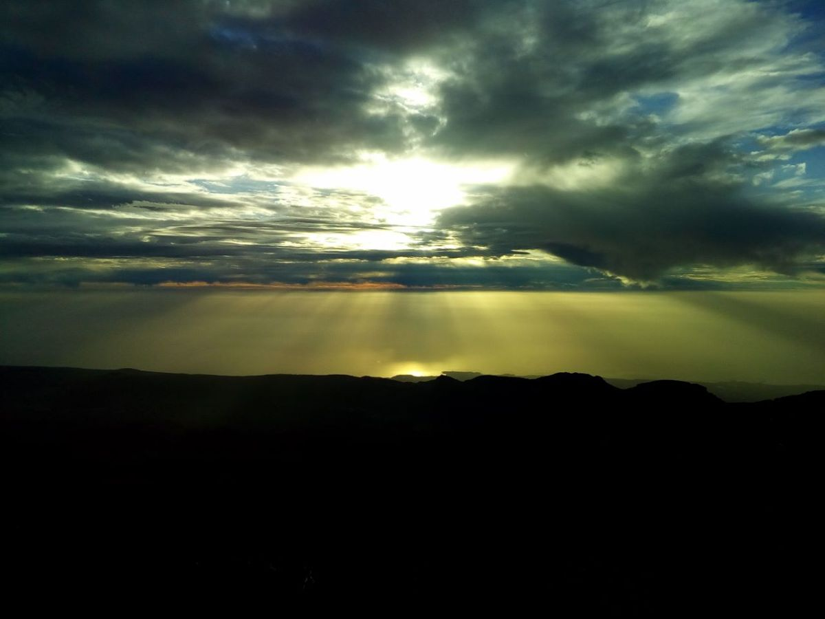 Frühlingsanfang und der einzige Sonnenaufgang desJahres