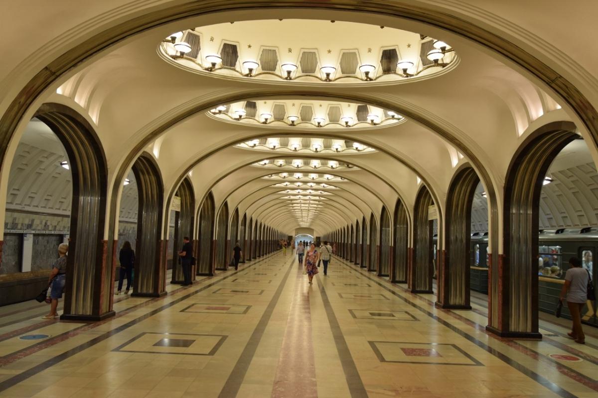 Die Moskauer Metro ist eine Reisewert