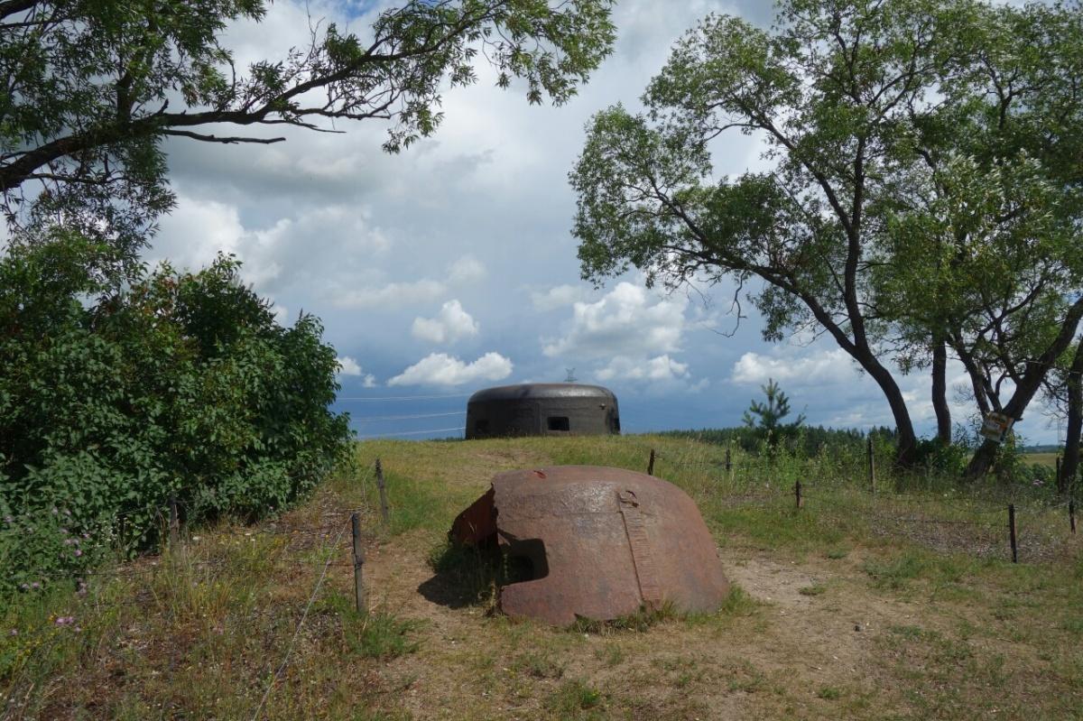Wäsche und Bunker auf unsererOsttour