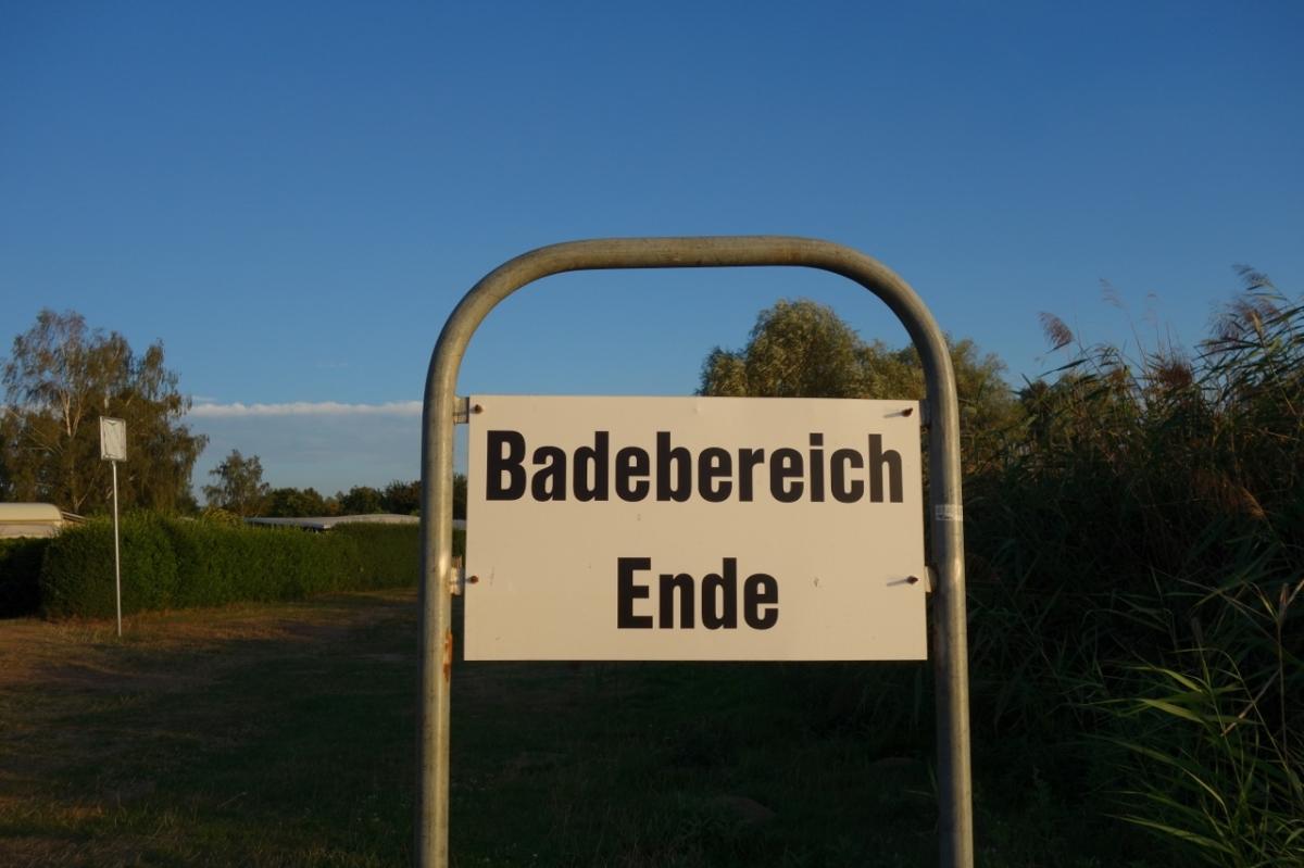 Badebereich Ende?!