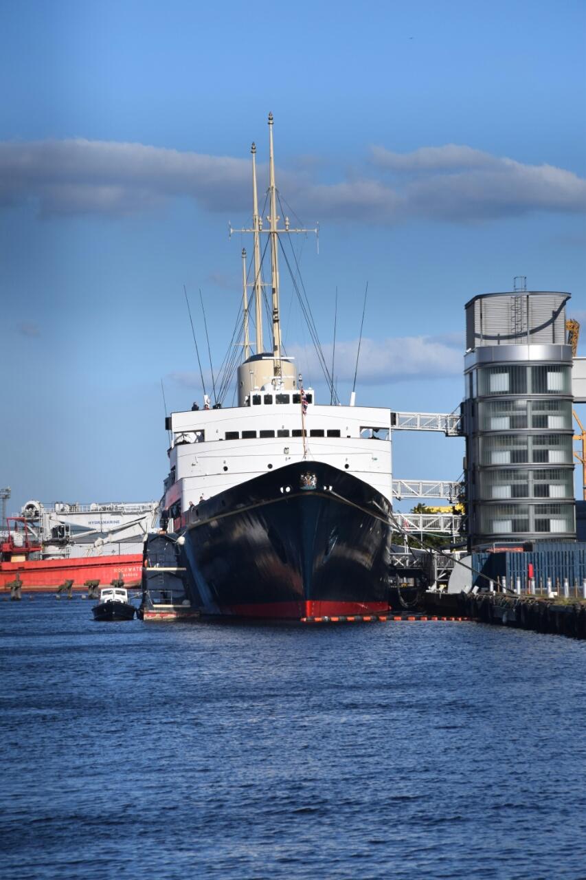 Her Majesty's Yacht Britannia…