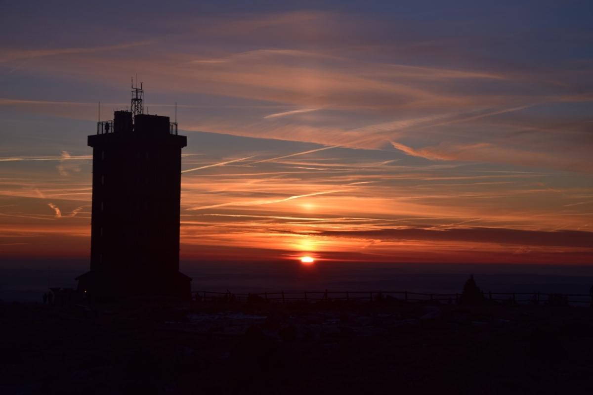 Sonnenaufgang auf demBrocken!