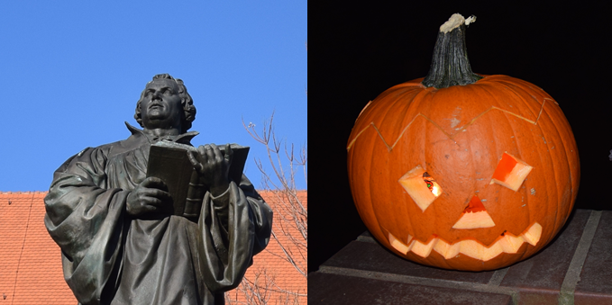 Reformationstag oder Halloween?