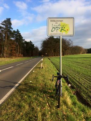 der Landkreis Ostprignitz ist am 07.12.17 an Takeshi vergeben