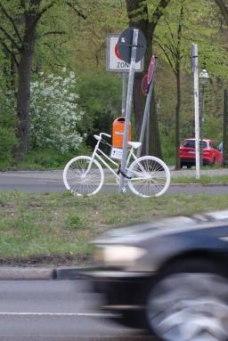 Ghost Bike in Berlin