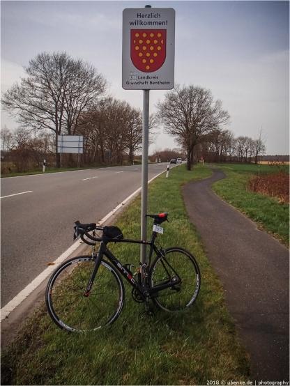 die Grafschaft Bentheim ist am 16.04.18 an Uli B. vergeben