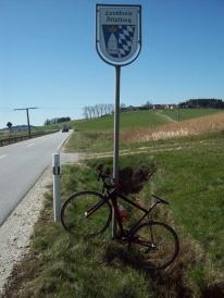 der Landkreis Altötting ist am 08.04.18 an spass.radler vergeben