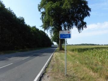 Willkommensschild Landkreis Prignitz