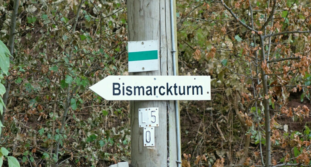 Bismarktürme im Grenzgebiet Thüringen-Sachsen-Anhalt