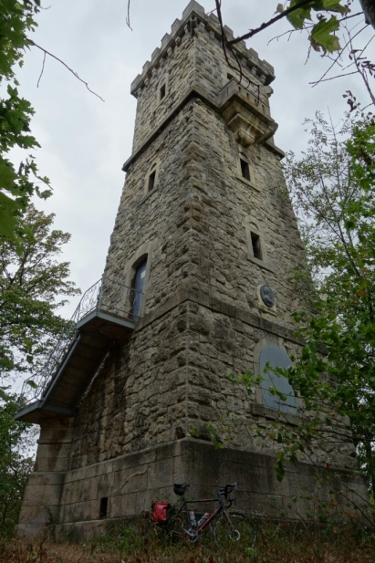 Bismarckturm Sondershausen N 51° 21.453′ E 10° 52.195′