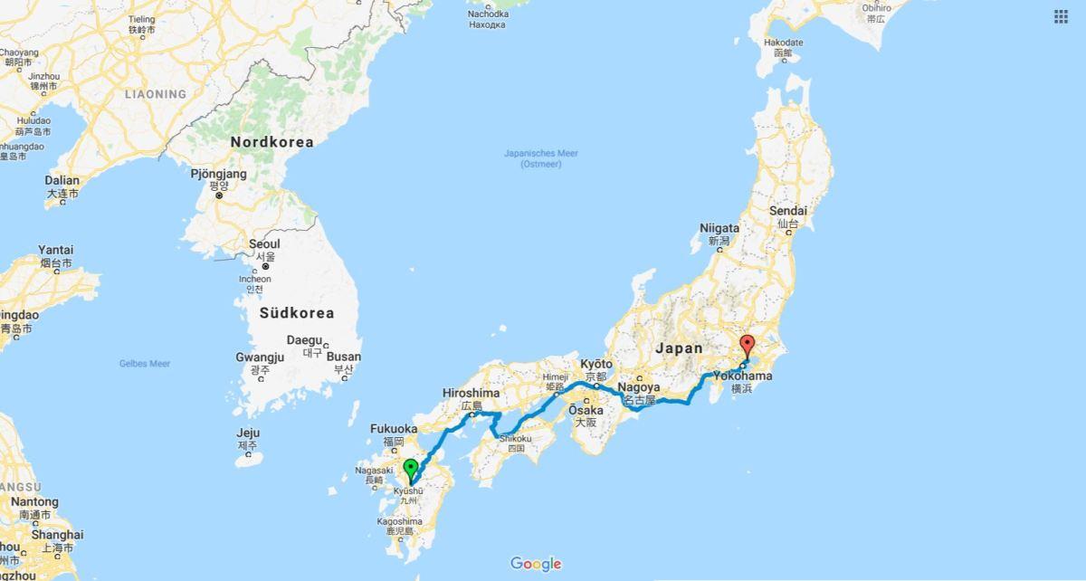 Unser Reisevortrag – Onsen, Hiroshima und Fujisan – mit dem Fahrrad durchJapan