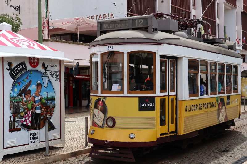 Lissabon, Straßenbahnen undArmillarsphären