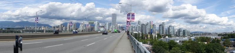 Vancouver, die größte Stadt vonBC