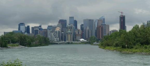 Bow River vor Calgary