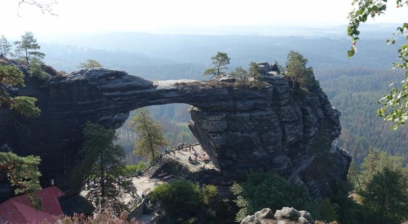 Wandern im Elbsandsteingebirge –Prebischtor