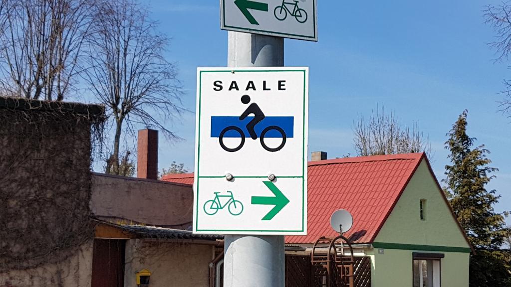 Saaleradweg und Kulturstempel