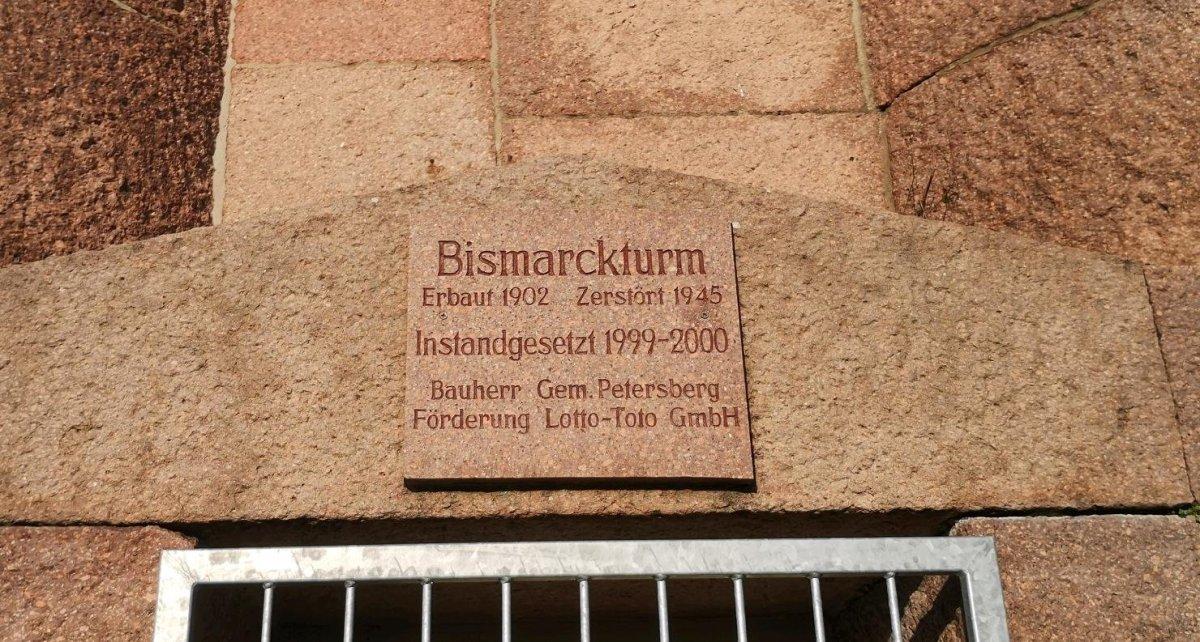Bismarckturm Petersberg beiHalle