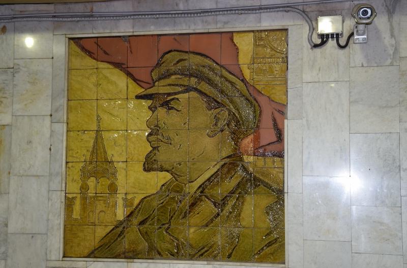 Lenin ist immer noch umuns
