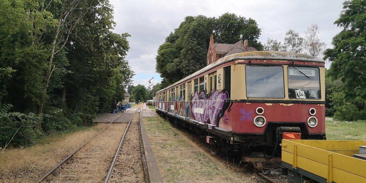 Radeln auf der Königlich Preußischen Militäreisenbahn