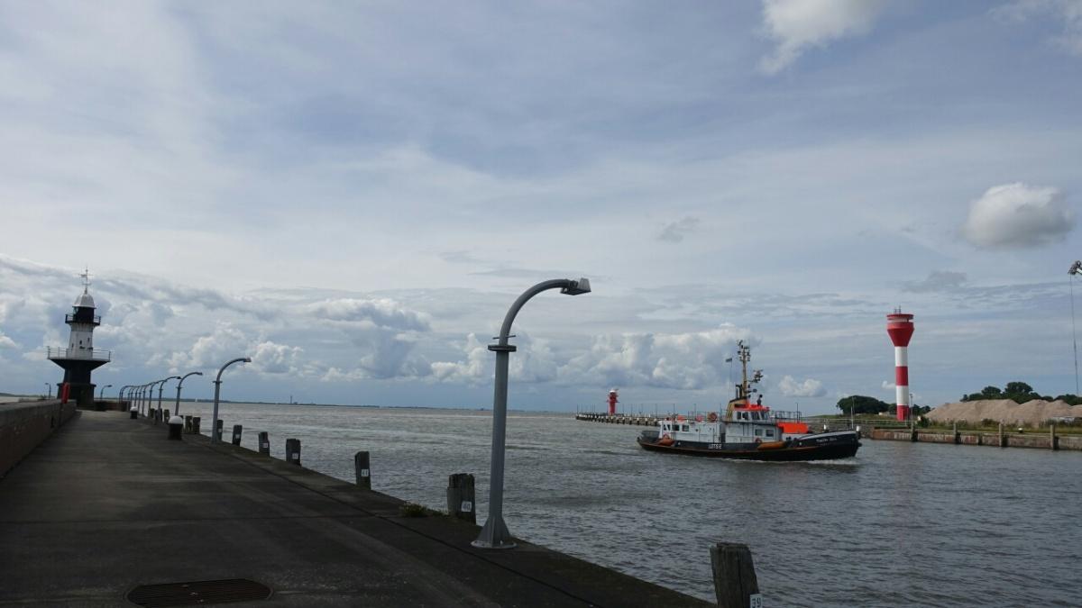 Vier Stunden vor Elbe1