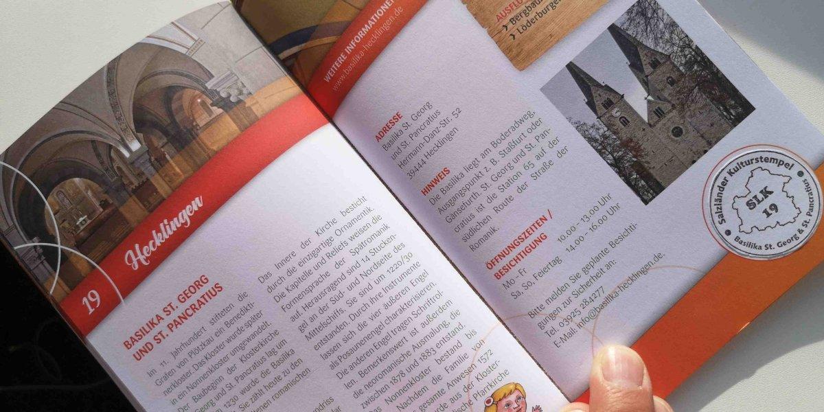 Salzländer Kulturstempel #19 Hecklingen und #15Abenteuerland